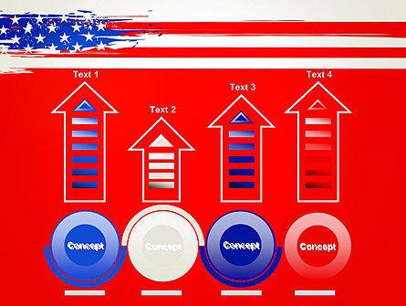 United States Flag Theme PowerPoint Slide 7