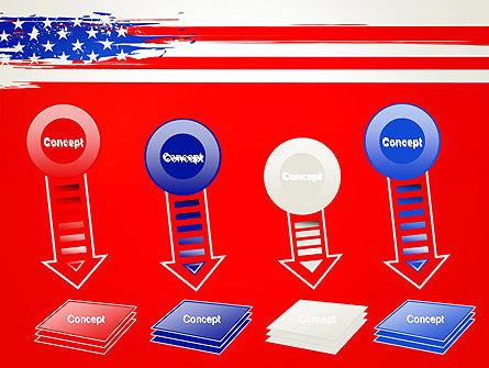 United States Flag Theme PowerPoint Slide 8