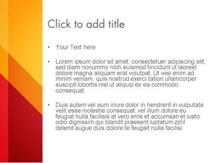 Oblique and Straight Lines PowerPoint Template, Slide 3, 12932, Abstract/Textures — PoweredTemplate.com
