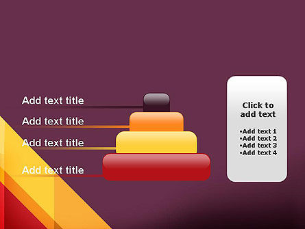 Oblique and Straight Lines PowerPoint Template Slide 8
