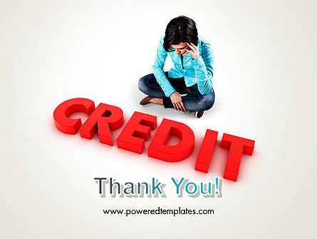 Bad Credit PowerPoint Template Slide 20