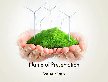 Nature & Environment: Sustainable Business PowerPoint Template #12942