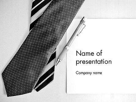 Fathers Day Gift PowerPoint Template, 12945, Holiday/Special Occasion — PoweredTemplate.com