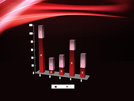 Abstract Red Moving Lights PowerPoint Template Slide 17