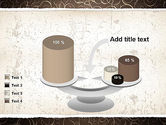 Abstract Curls PowerPoint Template#10