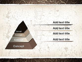 Abstract Curls PowerPoint Template#12