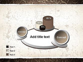 Abstract Curls PowerPoint Template#16
