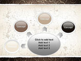 Abstract Curls PowerPoint Template#7