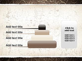 Abstract Curls PowerPoint Template#8