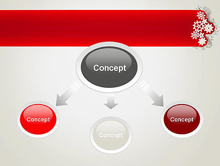 Working Business Concept PowerPoint Template, Slide 4, 12948, Business Concepts — PoweredTemplate.com