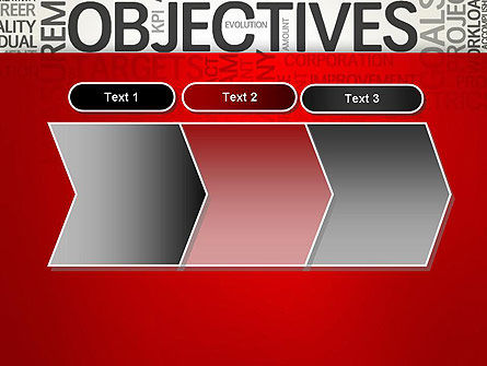 Objectives and Goals Word Cloud PowerPoint Template Slide 16