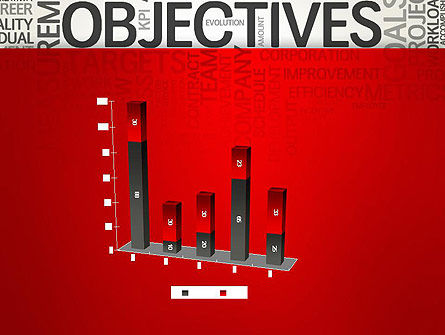 Objectives and Goals Word Cloud PowerPoint Template Slide 17