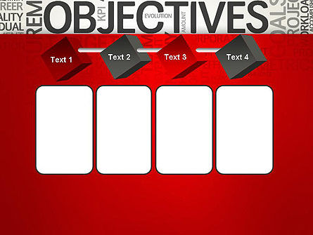 Objectives and Goals Word Cloud PowerPoint Template Slide 18