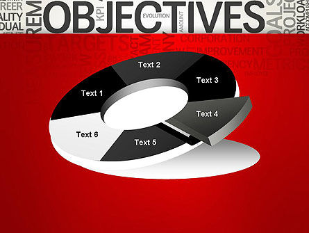 Objectives and Goals Word Cloud PowerPoint Template Slide 19