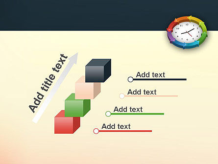 Around The Clock Process PowerPoint Template Slide 14