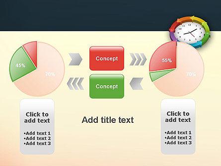 Around The Clock Process PowerPoint Template Slide 16