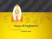 Business Concepts: Startup Project Lancering PowerPoint Template #12953