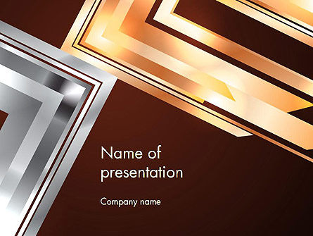 Abstract Stylish Background PowerPoint Template