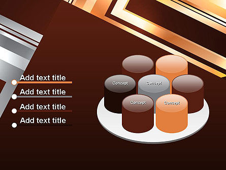 Abstract Stylish Background PowerPoint Template Slide 12