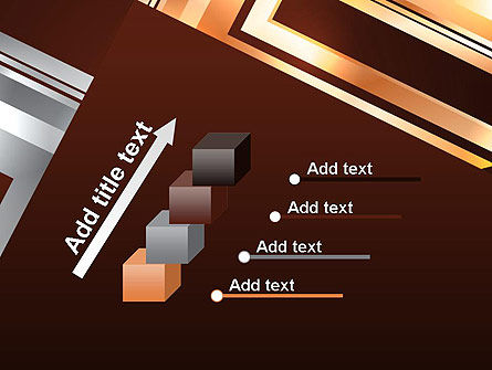 Abstract Stylish Background PowerPoint Template Slide 14