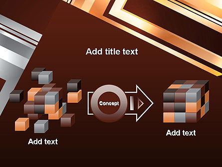 Abstract Stylish Background PowerPoint Template Slide 17