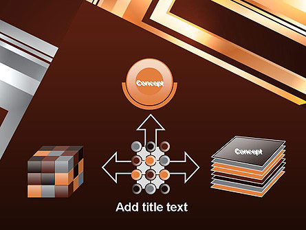 Abstract Stylish Background PowerPoint Template Slide 19