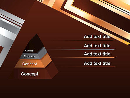 Abstract Stylish Background PowerPoint Template, Slide 4, 12955, Abstract/Textures — PoweredTemplate.com