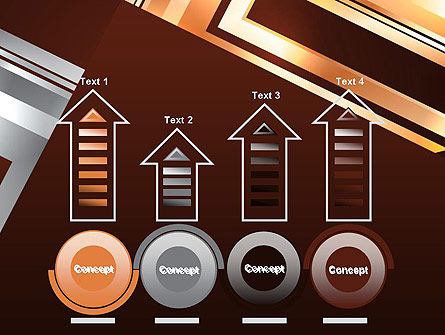 Abstract Stylish Background PowerPoint Template Slide 7