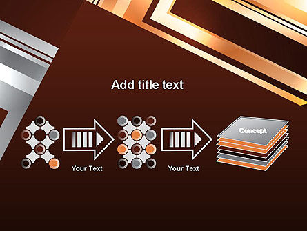 Abstract Stylish Background PowerPoint Template Slide 9