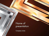 Abstract/Textures: Abstract Stylish Background PowerPoint Template #12955