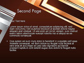 Abstract Stylish Background PowerPoint Template#2