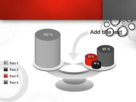 Fantasy Gray Circles PowerPoint Template Slide 10