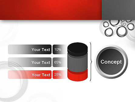 Fantasy Gray Circles PowerPoint Template Slide 11