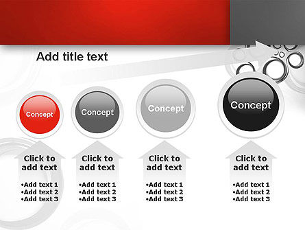 Fantasy Gray Circles PowerPoint Template Slide 13