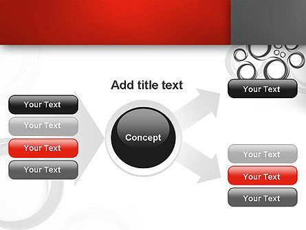 Fantasy Gray Circles PowerPoint Template Slide 14