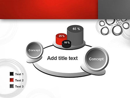 Fantasy Gray Circles PowerPoint Template Slide 16