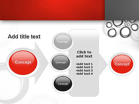 Fantasy Gray Circles PowerPoint Template Slide 17