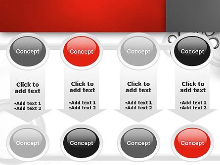 Fantasy Gray Circles PowerPoint Template Slide 18