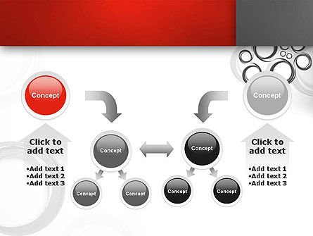 Fantasy Gray Circles PowerPoint Template Slide 19