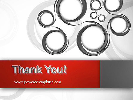 Fantasy Gray Circles PowerPoint Template Slide 20