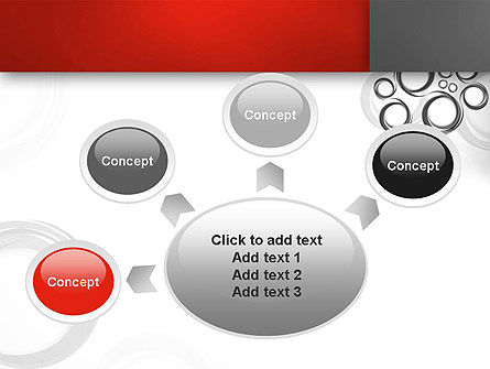 Fantasy Gray Circles PowerPoint Template Slide 7