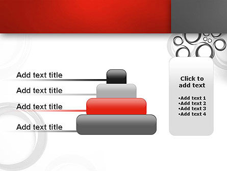 Fantasy Gray Circles PowerPoint Template Slide 8