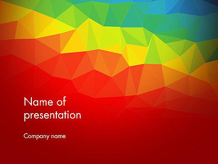 Abstract Polygon PowerPoint Template