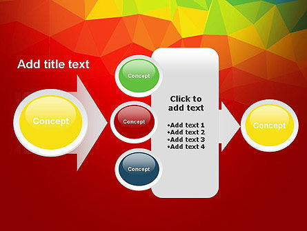 Abstract Polygon PowerPoint Template Slide 17