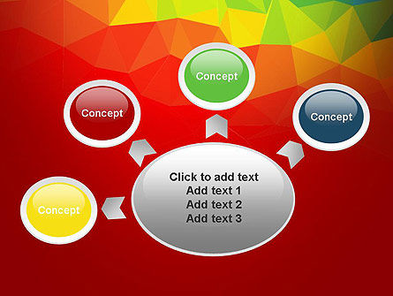 Abstract Polygon PowerPoint Template Slide 7