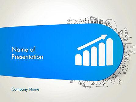 Education & Training: Modello PowerPoint - Competenze in crescita #12958