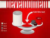 Development Word Cloud PowerPoint Template#10