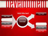 Development Word Cloud PowerPoint Template#14