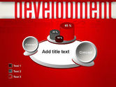 Development Word Cloud PowerPoint Template#16