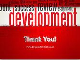Development Word Cloud PowerPoint Template#20